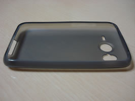 View of empty case on its back