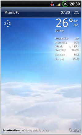 BinDroid HD GB V1.0 - Live Weather
