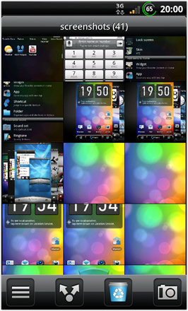 BinDroid HD GB V1.0 - Image Gallery - Inside folder view