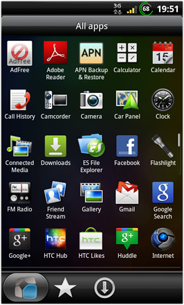 BinDroid HD GB V1.0 - All apps - screen 1