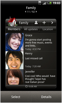RCMix3d Bliss v1.2 - Family widget