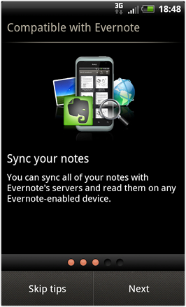 RCMix3d Bliss v1.2 - Evernote tips 3
