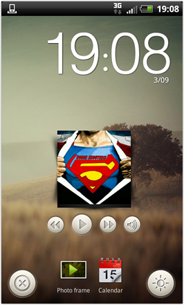 RCMix3d Bliss v1.2 - 3D Sense homescreen