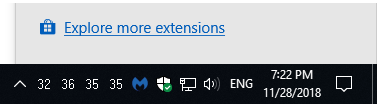 Microsoft Edge - Explore more extensions