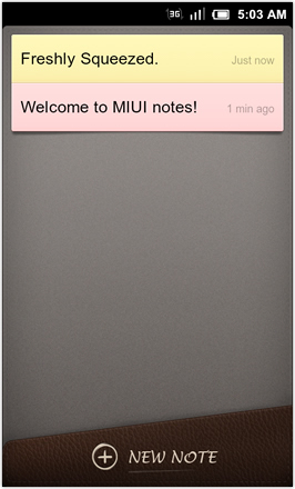 MIUI 1.8.26 v.2: Freshly Squeezed Edition™ - Notes