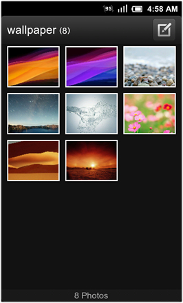 MIUI 1.8.26 v.2: Freshly Squeezed Edition™ - Wallpaper