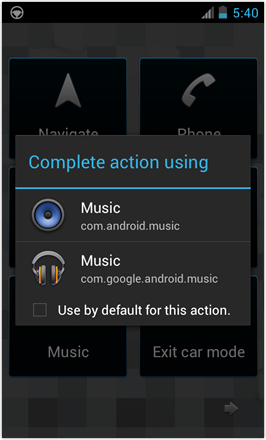 [BETA V] Ice Cream Sandwich for Desire HD - screenshot from HTC Desire HD - Complete action using