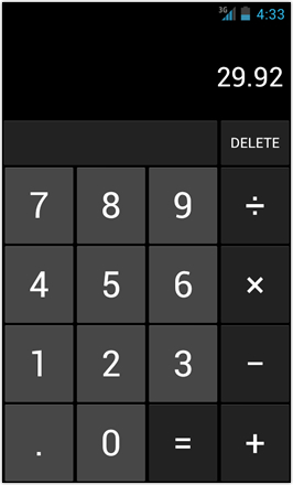 [BETA V] Ice Cream Sandwich for Desire HD - screenshot from HTC Desire HD - Calculator