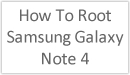 Image Title: How to Root Samsung Galaxy Note 4