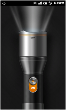 DHD NDT MIUI GINGER V5.0 - Flashlight