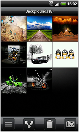 Android Revolution HD 3.6 - Gallery Inside folder view