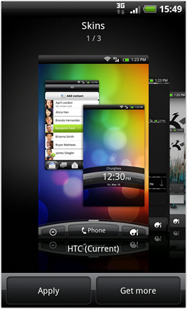 Android Revolution HD 3.6 - Skins