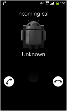 MDJ's Ultimate Droid HD - Incoming Call