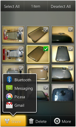 MDJ's Ultimate Droid HD - Empty Home screen with default background