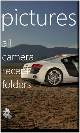 WP7.0.3 Ace Edition -  Screenshot from HTC Desire HD - Pictures