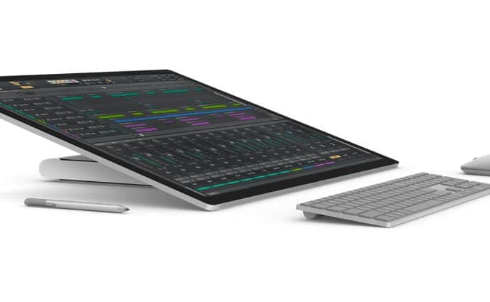 Cakewalk on Surface Studio