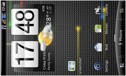 COREDROID HD V7.1 with live wallpaper