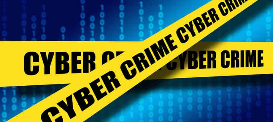 Cyber crime police tape