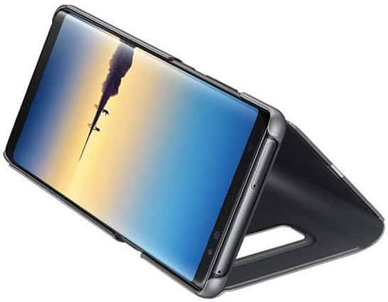 Galaxy note 8 with flip case