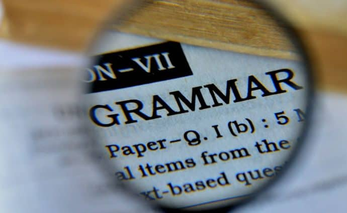 Grammar- dictionary definition