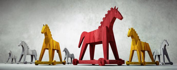 Images of trojan horses