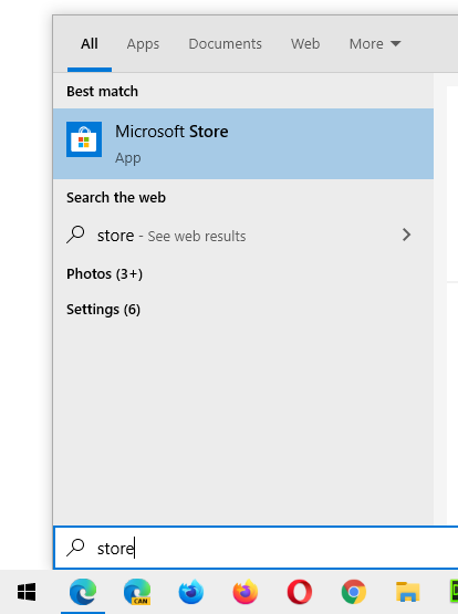 Microsoft Store Best Match