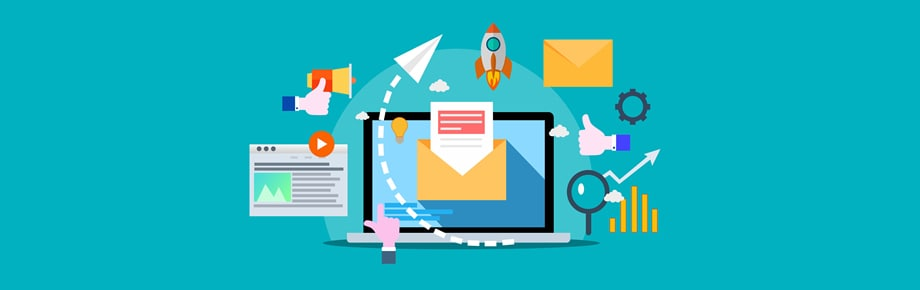 Newsletter, email, computer