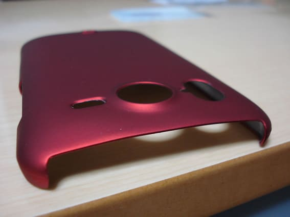 Ray-out Rubber Coating shell Jacket for HTC Desire HD
