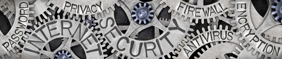 machine cogs with security category words