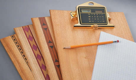 Clipboards and a pencil