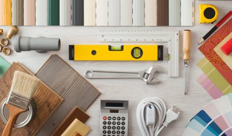 Calculator and measuring tools