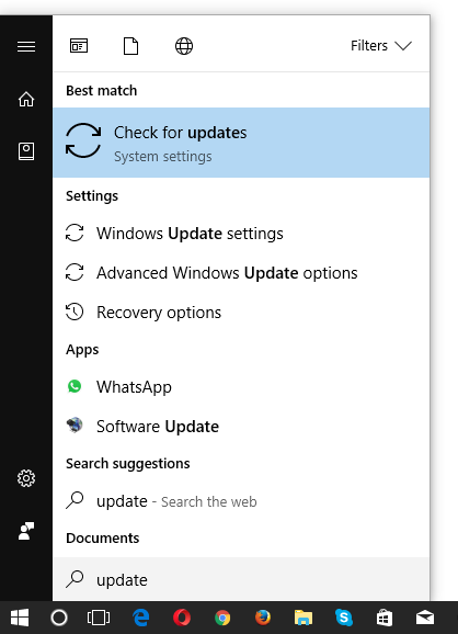 Search list via the Windows Start menu - Windows 10 tips for beginners