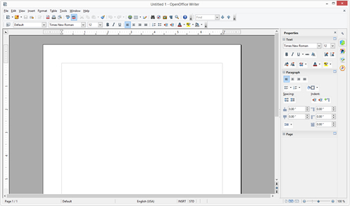OpenOffice - Writer - free office suite - thumbnail