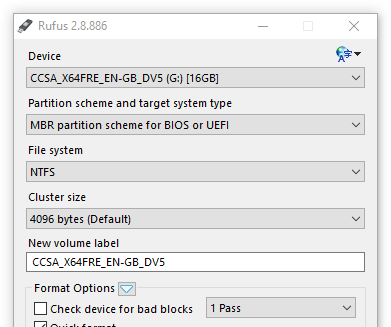 Rufus - Tools for Windows 10