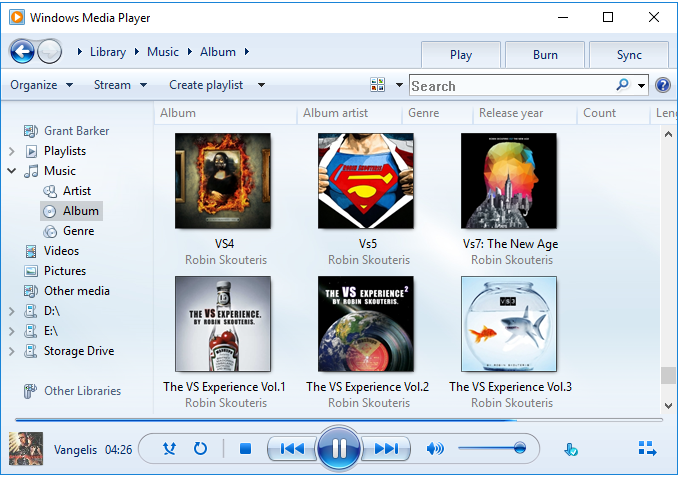 Windows Media Player - Audio players for Windows