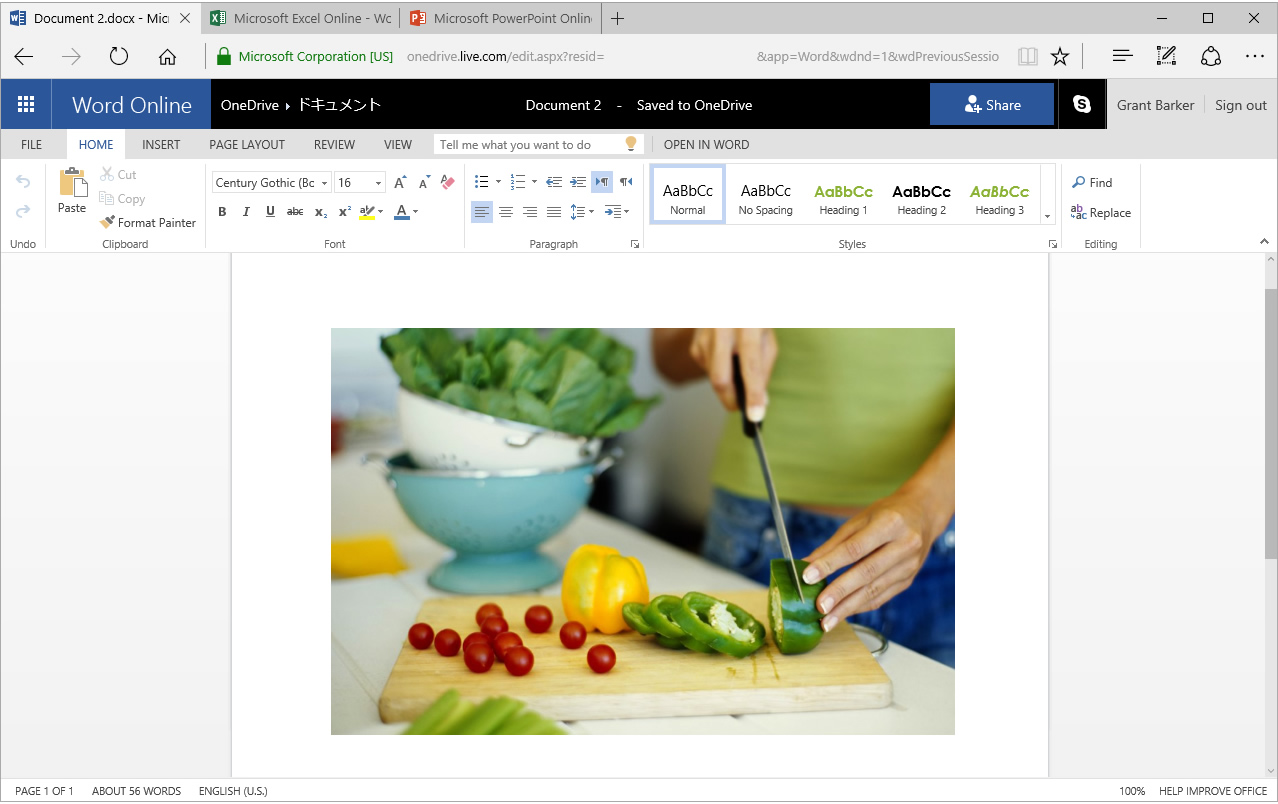 Word Online - free online office suite - thumbnail